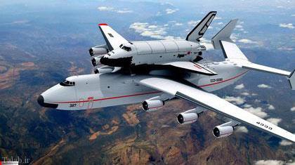 10 هواپیمای غول پیکر جهان (عکس)