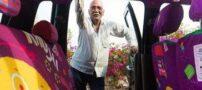 راننده خوش ذوق 75 ساله هندی (عکس)