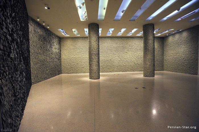 عکس های دیدنی از ساخت اتاقی با تارو پود اسکناس دلار