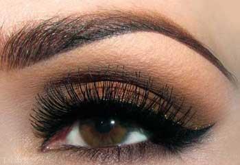 بهترین رنگ سایه چشم برای چشم های قهوه ای