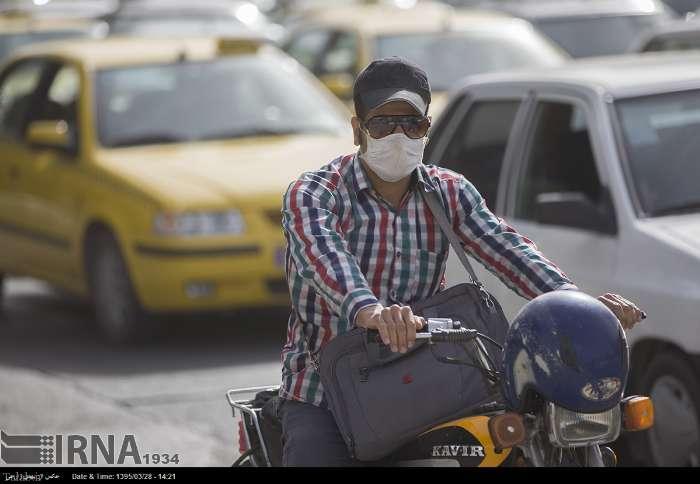 تصاویری از وضعیت اضطراری در هوای کرمانشاه