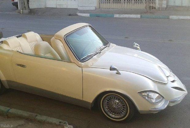ماجرای خودروی دست ساز یک اصفهانی (+ عکس)