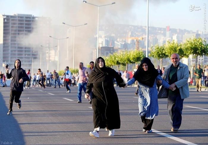 جنازه کشته شده ها توسط ارتش ترکیه + تصاویر