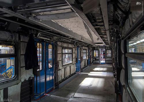 تصاویری از کارخانه واگن سازی ملی روسیه