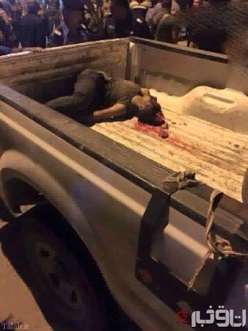هلاکت این داعشی قبل از عملیات انتحاری + تصاویر