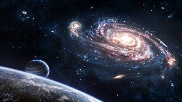 فروپاشی اسرار آمیز 3 جسم نورانی در فضا !+ عکس