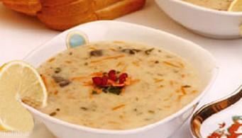 آموزش سوپ جو سفید در مایکروویو