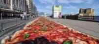 پخت بزرگترین پیتزای جهان (+عکس)