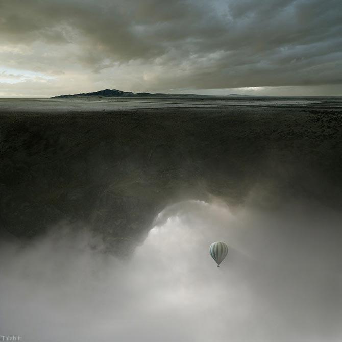 عکس های دیدنی دنیا از هنرمند لهستانی
