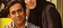 جشن تولد مجری زن در کنار همسرش (عکس)