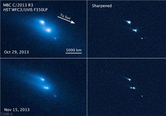 فروپاشی اسرار آمیز ۳ جسم نورانی در فضا !+ عکس - ترجمه علم