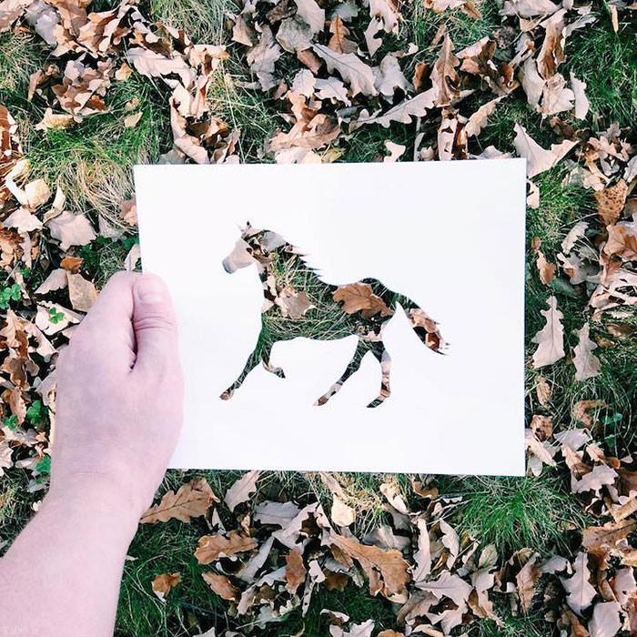 عکس های زیبا از نقاشی به رنگ طبیعت