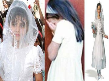 ازدواج دختربچه های کم سن و سال در مصر (+عکس)