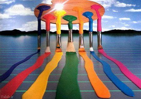 شخصیت شناسی از روی رنگ ها (+ تصاویر)