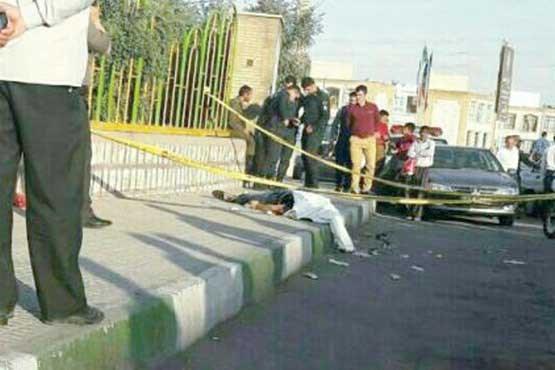 پدر زن کرمانشاهی که دامادش را در خیابان کشت + عکس