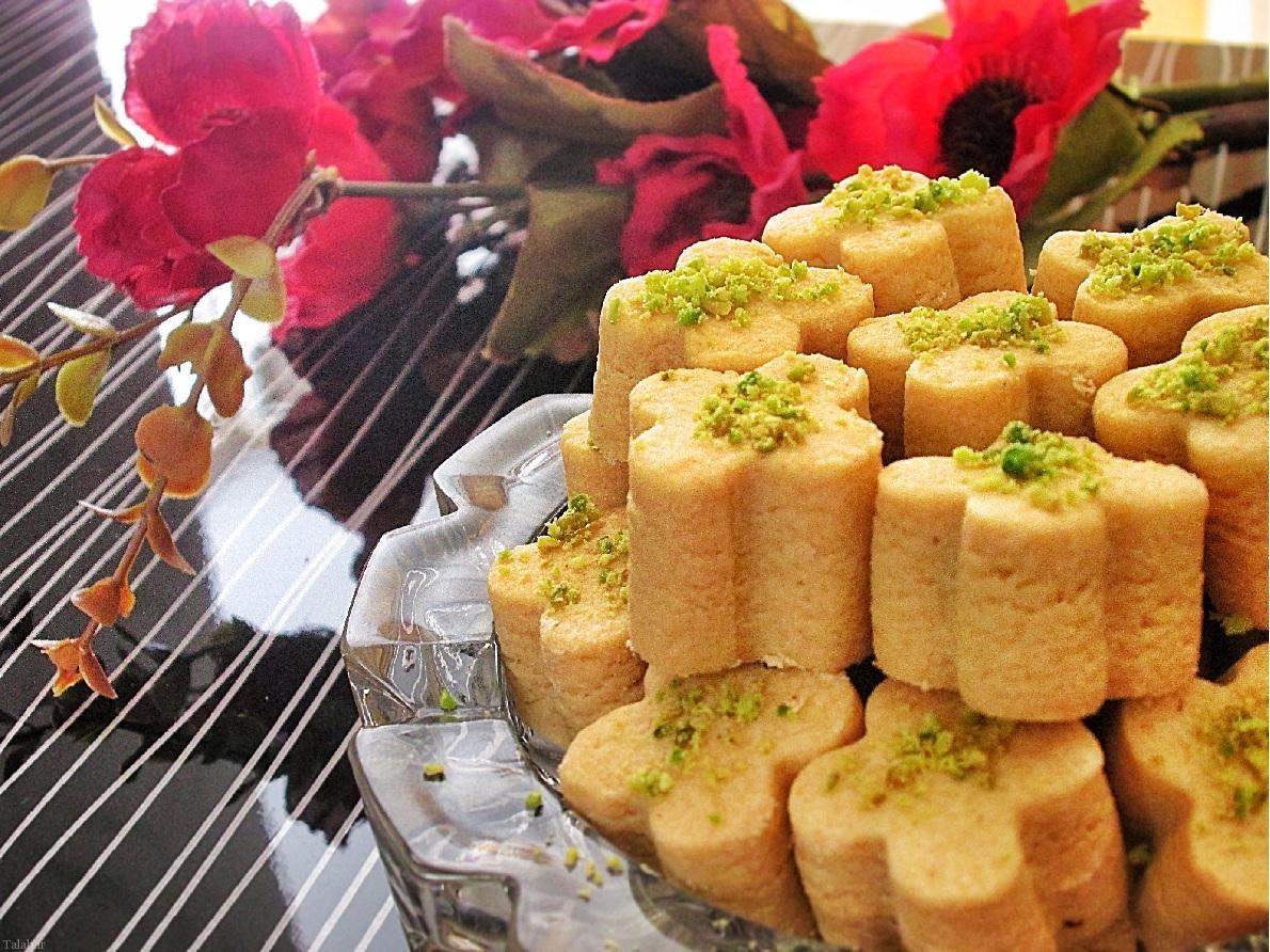 آموزش طرز تهیه شیرینی نخودچی - 2