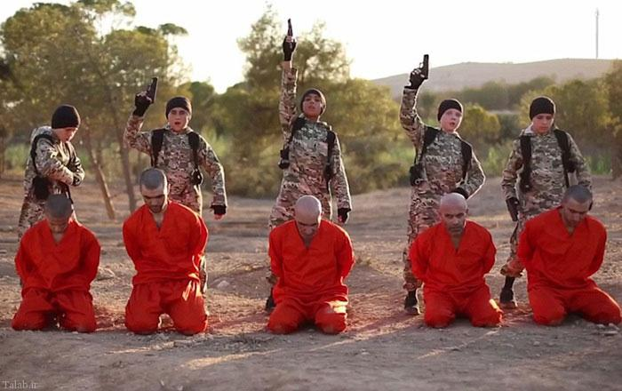 تصاویر جنایات کودکان جلاد داعشی +16