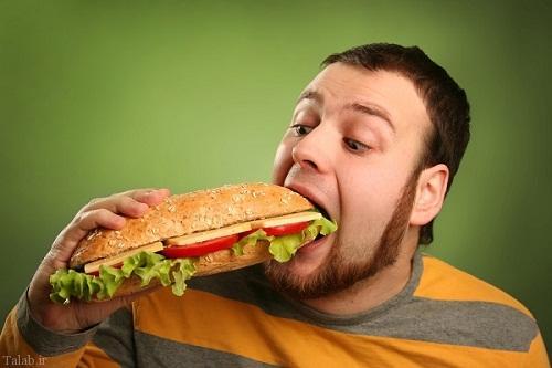 جویدن کامل غذا جهت کاهش وزن