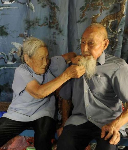 زندگی عاشقانه یک زوج به اندازه یک قرن (عکس)
