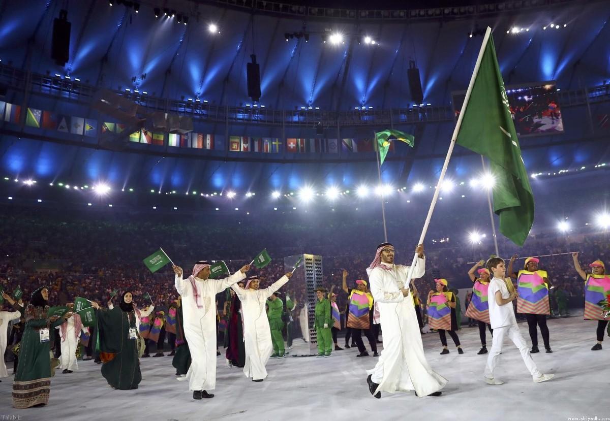 ماجرای زنان در کاروان ورزشی عربستان + عکس