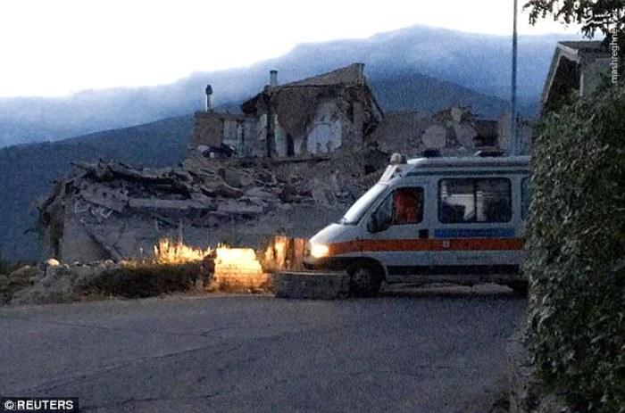تصاویر زلزله ۶.۲ ریشتری در ایتالیا