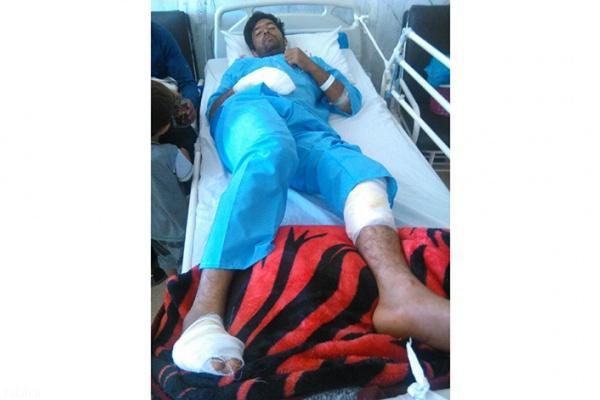 حادثه حمله خرس قهوای به چوپان فارسیانی + عکس
