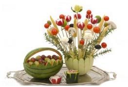 استفاده از میوه و سبزیجات در تغذیه