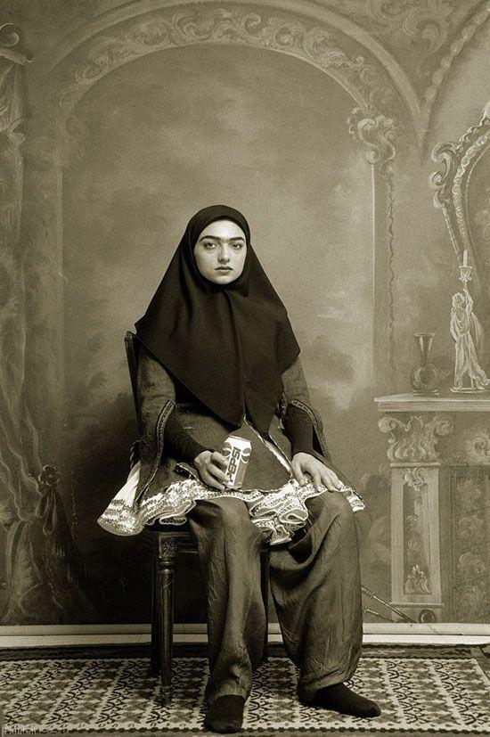 عکس های دختران خوش تیپ ایرانی در 100 سال پیش
