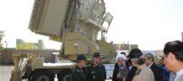 تصاویری از رونمایی رئیس جمهور از سامانه موشکی باور ۳۷۳