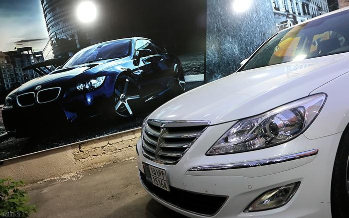 ماشین های لوکس در خیابان های تبریز + تصاویر