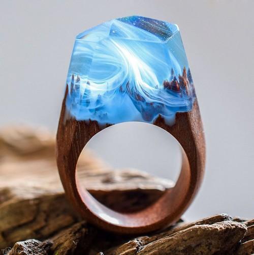 زیباترین مدل انگشترهای چوبی را اینجا ببینید