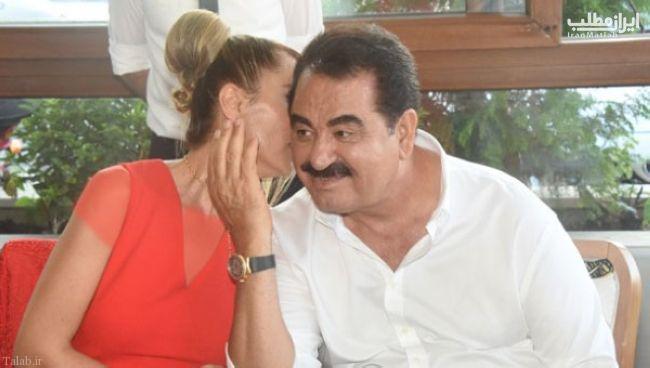 ازدواج سوم ابراهیم تاتلیس خواننده معروف ترکیه + تصاویر