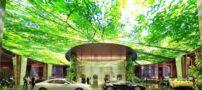 ساخت یک هتل جنگلی در دبی !+ تصاویر