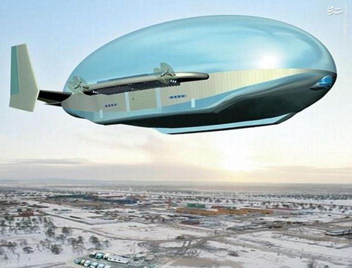 ساخت کشتی هوایی مدرن به دستور پوتین + تصاویر