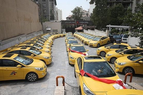 پیوستن 200 دستگاه خودروی هیوندای اکسنت به تاکسی های تهران
