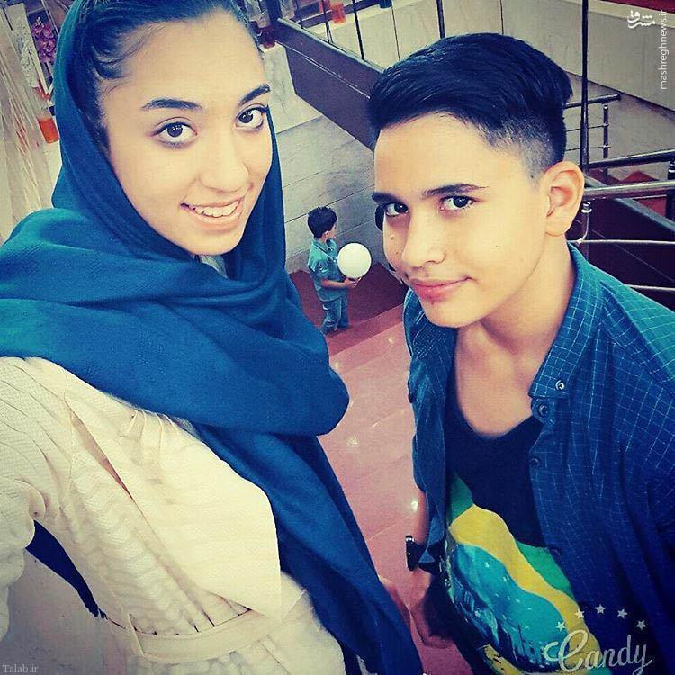 کیمیا علیزاده قهرمان تکواندو در کنار برادرش + عکس
