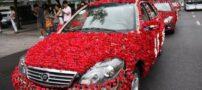 تصاویری از ماشین عروس با طراحی جالب