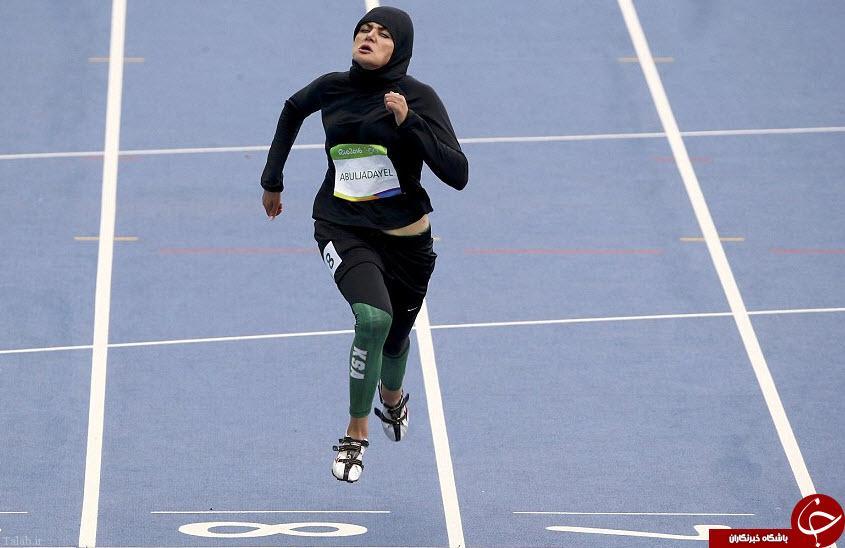 جنجالی شدن حجاب این ورزشکار زن عربستانی (+ تصاویر)