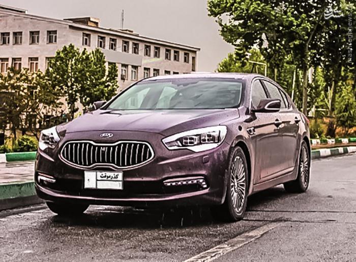 جدیدترین و مدرن ترین خودروی کیا در تهران + تصاویر