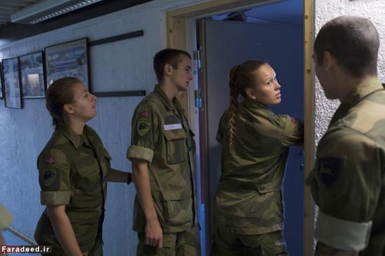 عکس های دیدنی از خدمت سربازی زنان در نروژ