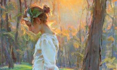 تصاویری از نقاشی های بسیار زیبای درام