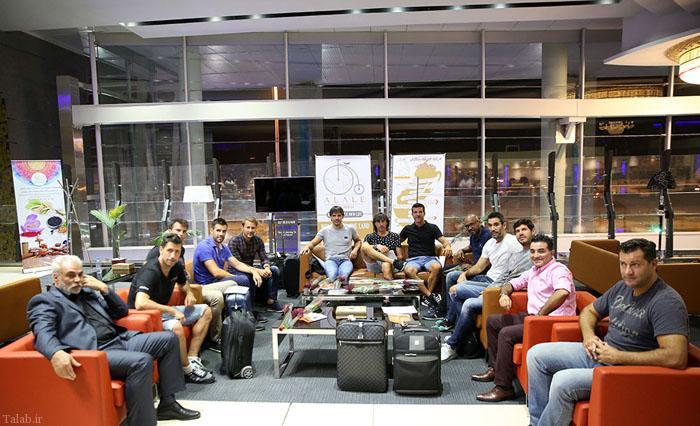 تصاویر اعضای تیم ستارگان لالیگا در تهران