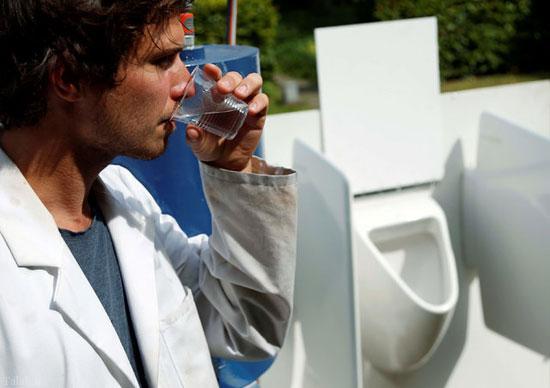 دستگاهی که ادرار را به آب آشامیدنی تبدیل میکند !!+ تصاویر