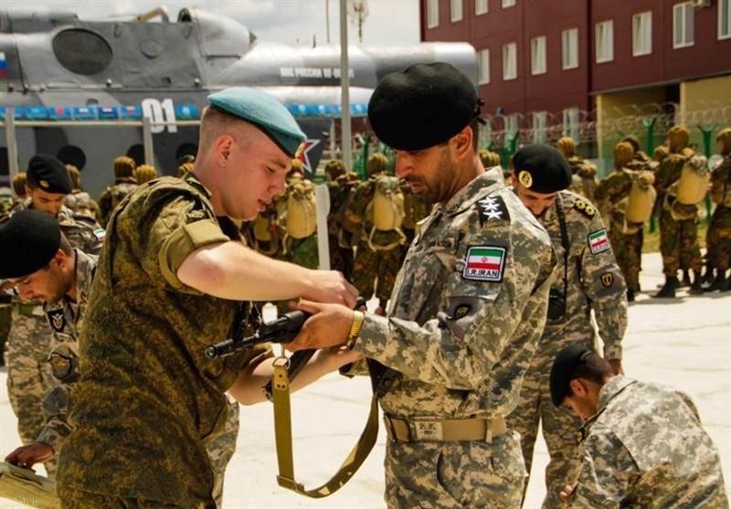 تکاوران ارتش و سپاه در روسیه (+ تصاویر)