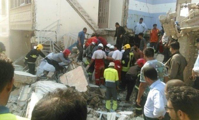انفجار منزل مسکونی در اهواز با ۶ کشته + تصاویر