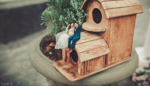 ایده خلاقانه جالب برای آلبوم عکس عروسی (عکس)