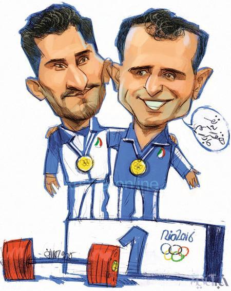 کاریکاتورهای زیبا و معنادار از المپیک ریو 2016