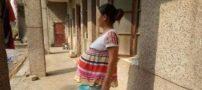 زن چینی عجیب با 17 ماه بارداری در چین !+ تصاویر