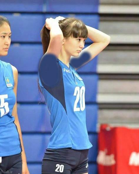 عکس جذابترین و زیباترین زن والیبالیست آسیا