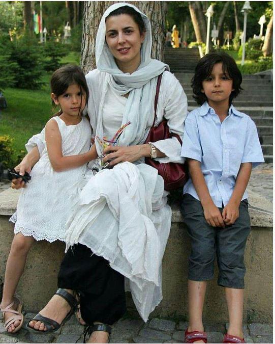 لیلا حاتمی در کنار پسر و دخترش + عکس